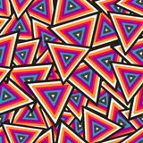Abstract Geometrisch Naadloos Patroon. Vector Royalty-vrije Stock Foto