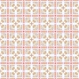 Abstract geometrisch naadloos patroon Vector Stock Afbeelding