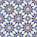 Abstract geometrisch naadloos patroon Vector illustratie Royalty-vrije Stock Foto's