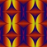 Abstract, geometrisch, naadloos patroon Voor stoffen, tegels, behang vector illustratie
