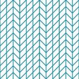 Abstract geometrisch net Het blauwe minimale grafische patroon van de ontwerpdruk stock illustratie