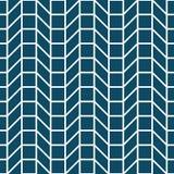 Abstract geometrisch net Het blauwe minimale grafische patroon van de ontwerpdruk Stock Afbeelding