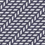 Abstract geometrisch net Het purpere minimale grafische patroon van de ontwerpdruk Stock Fotografie