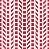 Abstract geometrisch net Het rode minimale grafische patroon van de ontwerpdruk Stock Foto