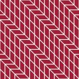 Abstract geometrisch net Het rode minimale grafische patroon van de ontwerpdruk Stock Afbeelding