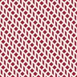 Abstract geometrisch net Het rode minimale grafische patroon van de ontwerpdruk Stock Foto's