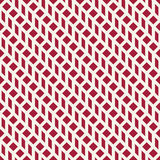 Abstract geometrisch net Het rode minimale grafische patroon van de ontwerpdruk Royalty-vrije Stock Afbeelding