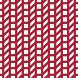 Abstract geometrisch net Het rode minimale grafische patroon van de ontwerpdruk stock illustratie