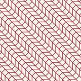Abstract geometrisch net Het rode minimale grafische patroon van de ontwerpdruk Royalty-vrije Stock Afbeeldingen