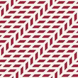 Abstract geometrisch net Het rode minimale grafische patroon van de ontwerpdruk Stock Afbeeldingen