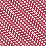 Abstract geometrisch net Het rode minimale grafische patroon van de ontwerpdruk royalty-vrije illustratie