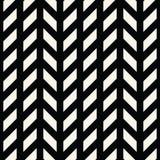Abstract geometrisch net Het zwart-witte minimale grafische patroon van de ontwerpdruk stock illustratie