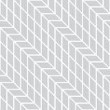 Abstract geometrisch net Het zwart-witte minimale grafische patroon van de ontwerpdruk Royalty-vrije Stock Afbeeldingen