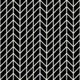 Abstract geometrisch net Het zwart-witte minimale grafische patroon van de ontwerpdruk Stock Foto