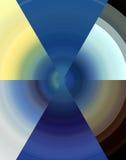 Abstract geometrisch ontwerp Stock Foto's