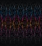 Abstract geometrisch ornament van cirkellijnen vector illustratie