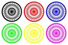 Abstract Geometrisch patroon stock illustratie