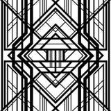 Abstract geometrisch patroon, stock illustratie