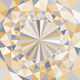 Abstract geometrisch patroon Royalty-vrije Stock Afbeelding