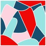 Abstract geometrisch patroon als achtergrond Royalty-vrije Stock Fotografie