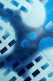 Abstract geometrisch patroon in blauw Royalty-vrije Stock Fotografie