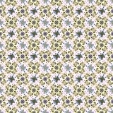 Abstract geometrisch patroon, bloemenachtergrond Stock Foto
