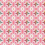 Abstract geometrisch patroon, bloemenachtergrond Stock Afbeelding