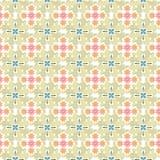 Abstract geometrisch patroon, bloemenachtergrond Royalty-vrije Stock Afbeeldingen