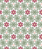 Abstract geometrisch patroon, bloemenachtergrond Stock Afbeeldingen