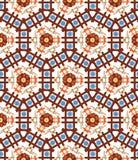 Abstract geometrisch patroon, bloemenachtergrond Stock Fotografie