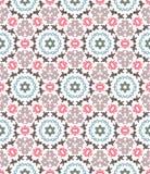 Abstract geometrisch patroon, bloemenachtergrond Royalty-vrije Stock Afbeelding