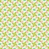 Abstract geometrisch patroon, bloemenachtergrond Stock Foto's