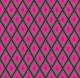 Abstract Geometrisch patroon Diagonale lijnachtergrond Abstract diamantornament Roze ruittextuur Stock Afbeelding