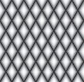 Abstract Geometrisch patroon Diagonale lijnachtergrond Abstract diamantornament Zwart-wit ruittextuur Royalty-vrije Stock Afbeeldingen