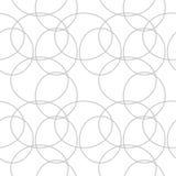 Abstract Geometrisch patroon Een naadloze achtergrond Zwart-witte textuur Stock Afbeeldingen