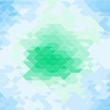 Abstract geometrisch patroon met driehoeken Stock Afbeeldingen