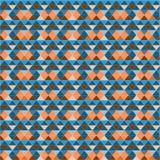 Abstract geometrisch patroon met driehoeken Stock Fotografie