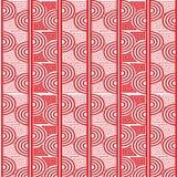 Abstract geometrisch patroon met golvende lijnen, strepen royalty-vrije stock afbeeldingen
