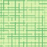 Abstract geometrisch patroon met groene rond gemaakte lijnen op lichtgroene achtergrond Vector stock illustratie