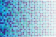Abstract geometrisch patroon met kleine vierkanten zoals keramische tegel Stock Foto's