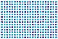 Abstract geometrisch patroon met kleine vierkanten zoals keramische tegel Stock Foto