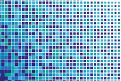 Abstract geometrisch patroon met kleine vierkanten zoals keramische tegel Stock Fotografie