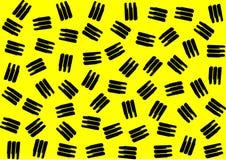 Abstract geometrisch patroon in retro stijl van Memphis Stock Afbeeldingen