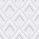 Abstract Geometrisch patroon Vierkante vorm abstracte decoratieve boog Stock Afbeeldingen