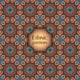Abstract geometrisch retro naadloos patroon Het kan voor prestaties van het ontwerpwerk noodzakelijk zijn Stock Afbeeldingen