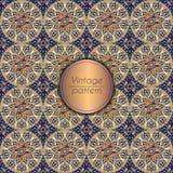 Abstract geometrisch retro naadloos patroon Het kan voor prestaties van het ontwerpwerk noodzakelijk zijn Stock Afbeelding