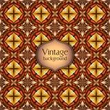 Abstract geometrisch retro naadloos patroon Het kan voor prestaties van het ontwerpwerk noodzakelijk zijn Royalty-vrije Stock Fotografie