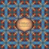 Abstract geometrisch retro naadloos patroon Het kan voor prestaties van het ontwerpwerk noodzakelijk zijn Royalty-vrije Stock Foto's