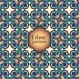 Abstract geometrisch retro naadloos patroon Het kan voor prestaties van het ontwerpwerk noodzakelijk zijn Stock Fotografie