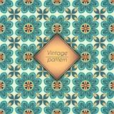 Abstract geometrisch retro naadloos patroon Het kan voor prestaties van het ontwerpwerk noodzakelijk zijn Royalty-vrije Stock Foto